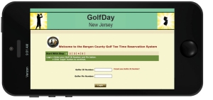 Book your Tee Times online with GolfDay
