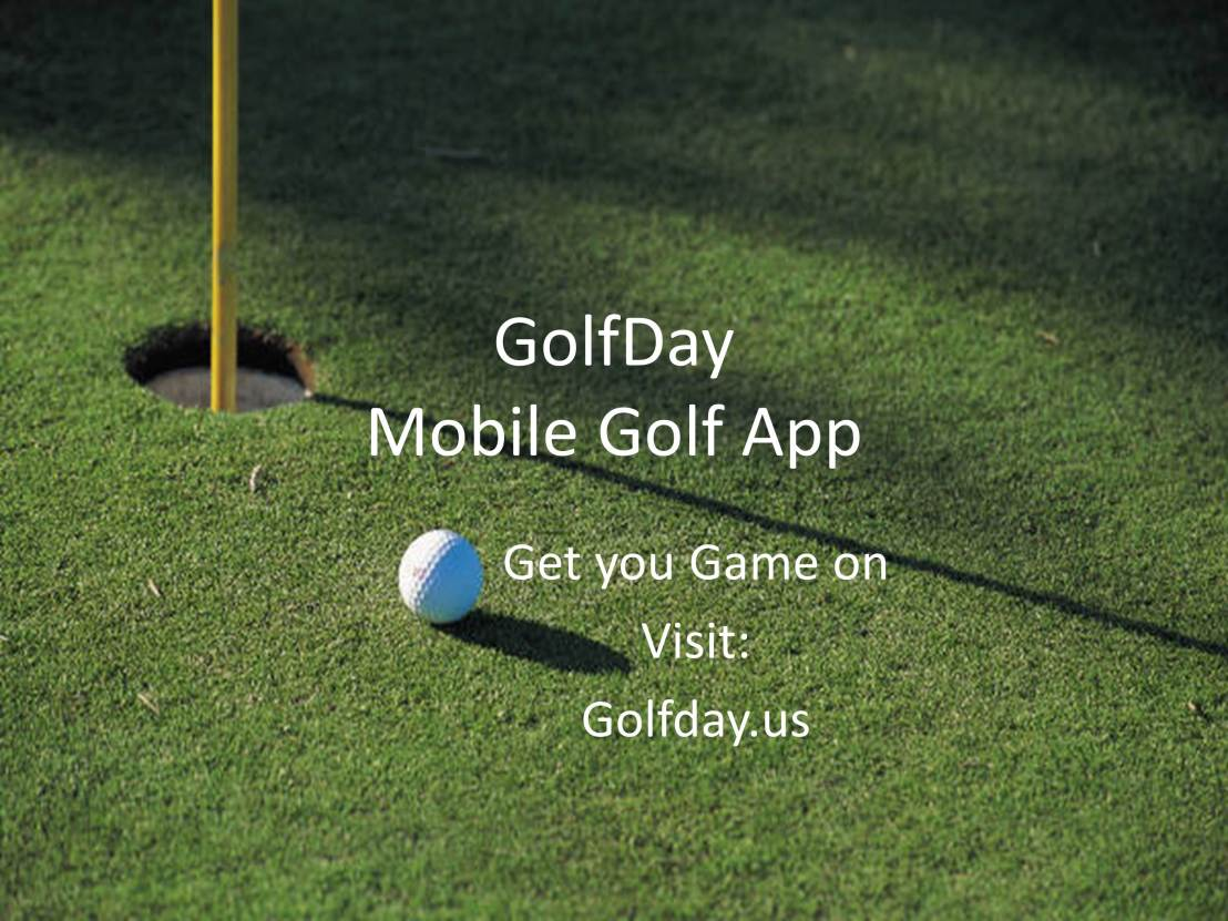 Get the GolfDay Mobile Golf App!